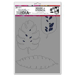 Dina Wakley Media Dina Media Stencils Tropical Masks