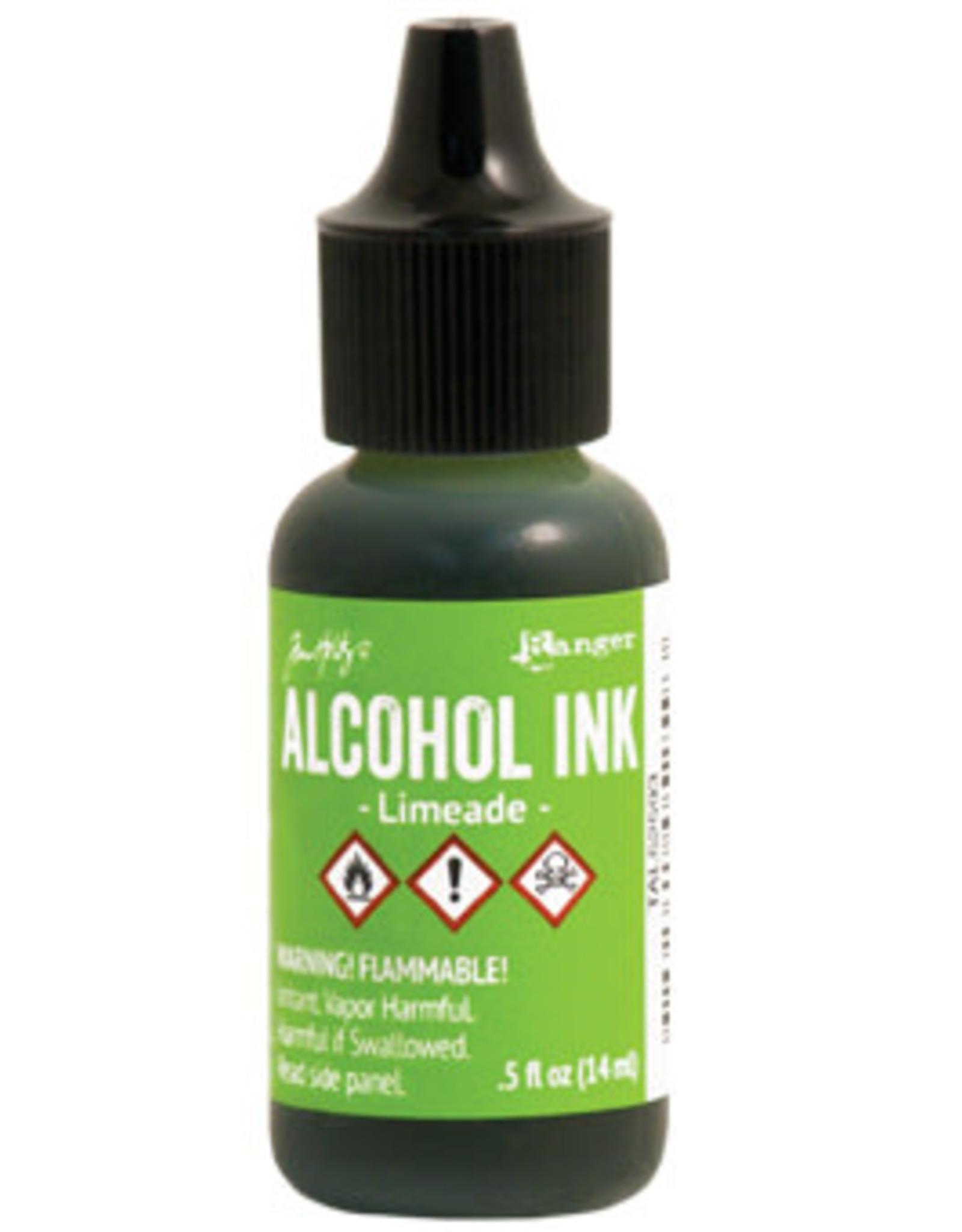 Tim Holtz Alcohol Ink 1/2 oz Limeade