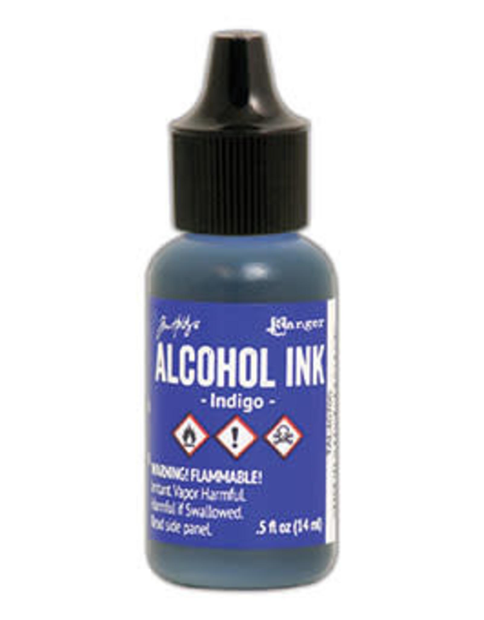 Tim Holtz Alcohol Ink 1/2 oz Indigo
