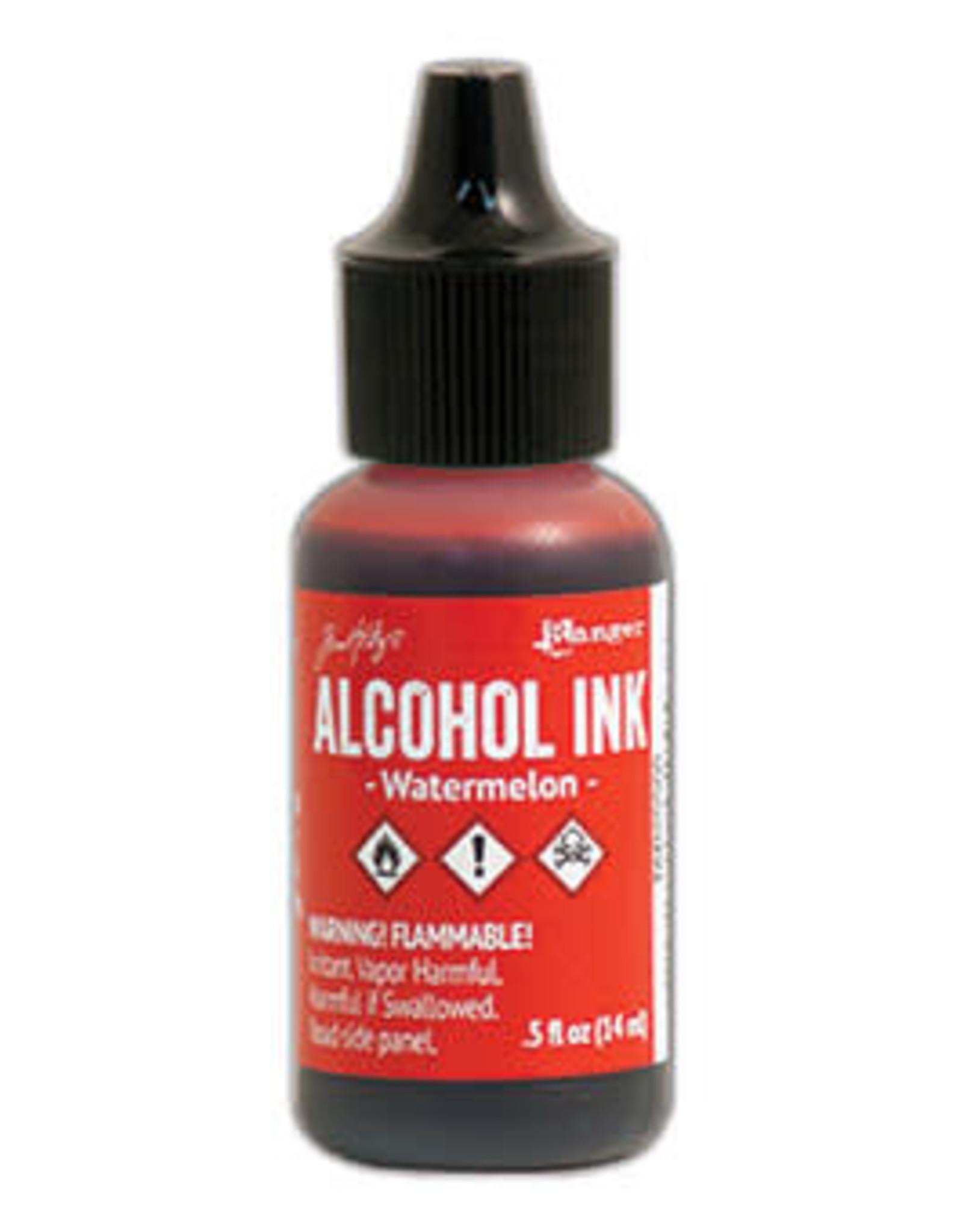 Tim Holtz Alcohol Ink 1/2 oz Watermelon