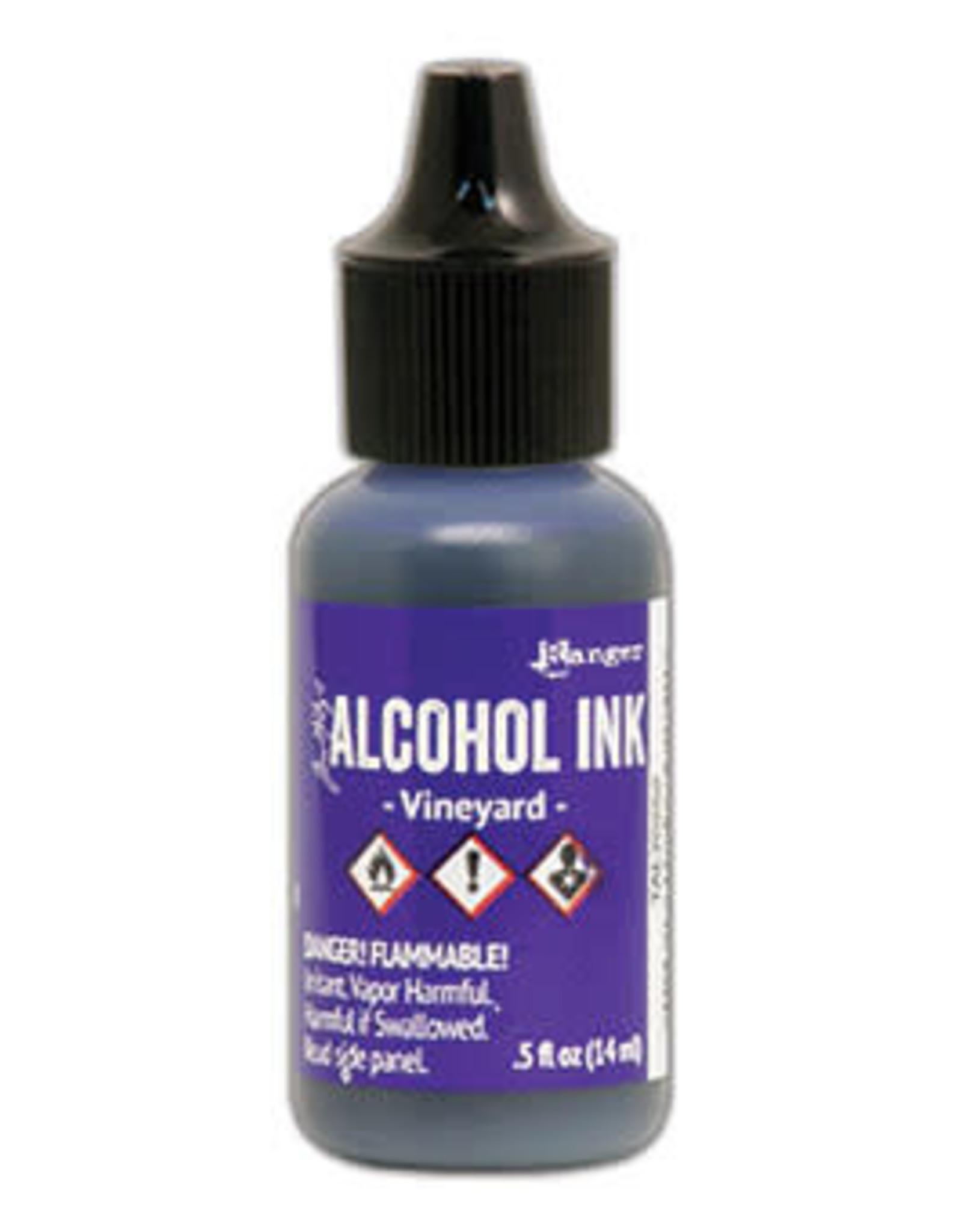 Tim Holtz Alcohol Ink 1/2 oz Vineyard