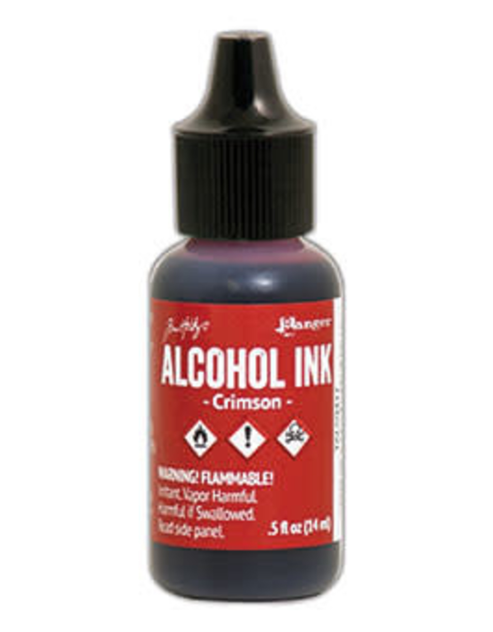 Tim Holtz Alcohol Ink 1/2 oz Crimson