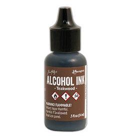 Tim Holtz Alcohol Ink 1/2 oz Teakwood