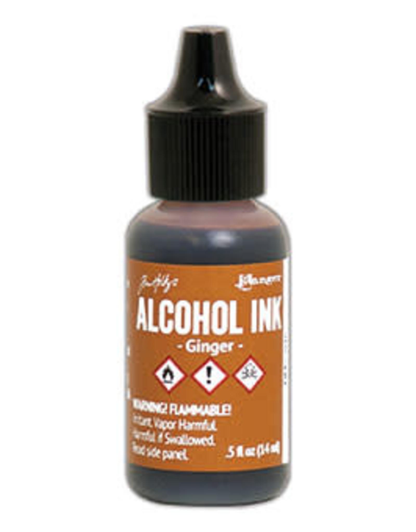 Tim Holtz Alcohol Ink 1/2 oz Ginger