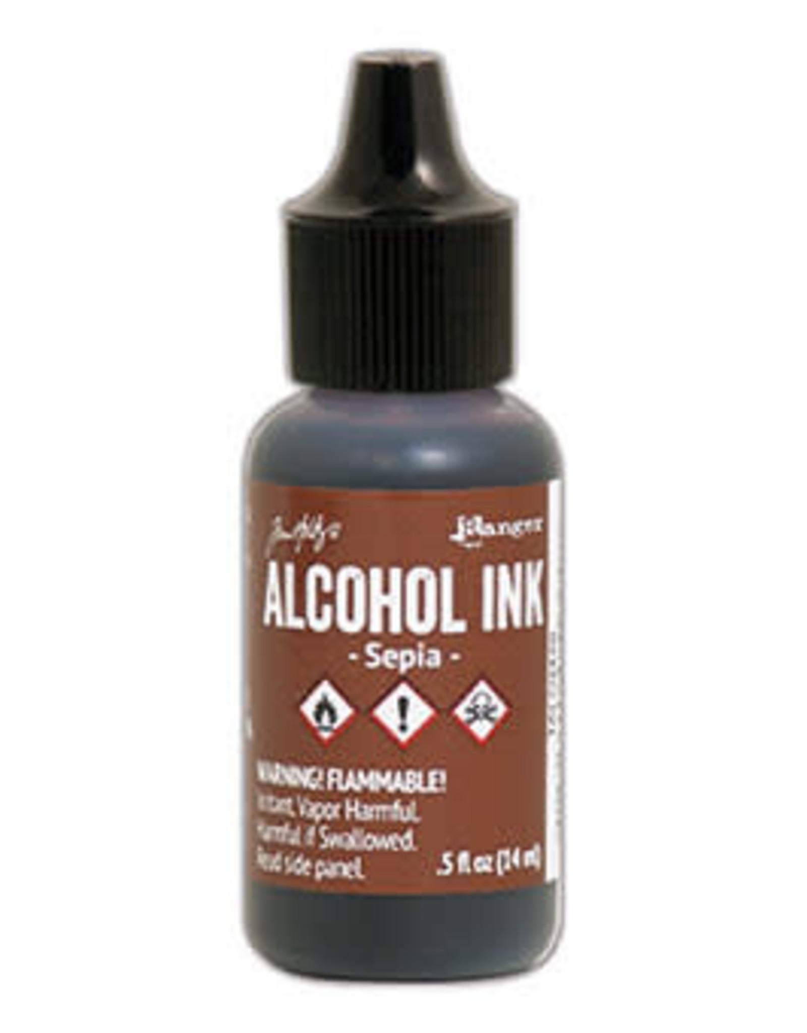 Tim Holtz Alcohol Ink 1/2 oz Sepia