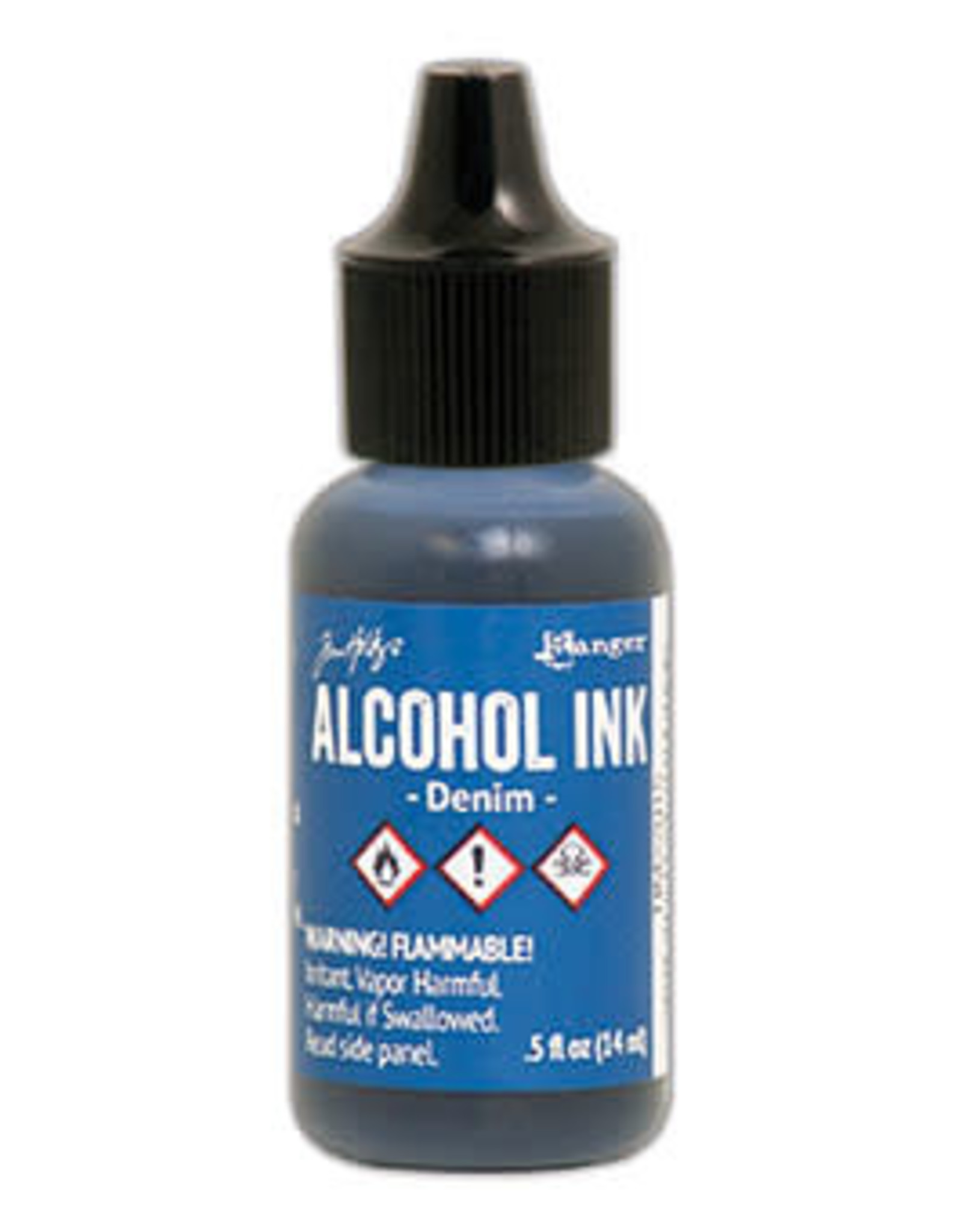 Tim Holtz Alcohol Ink 1/2 oz Denim