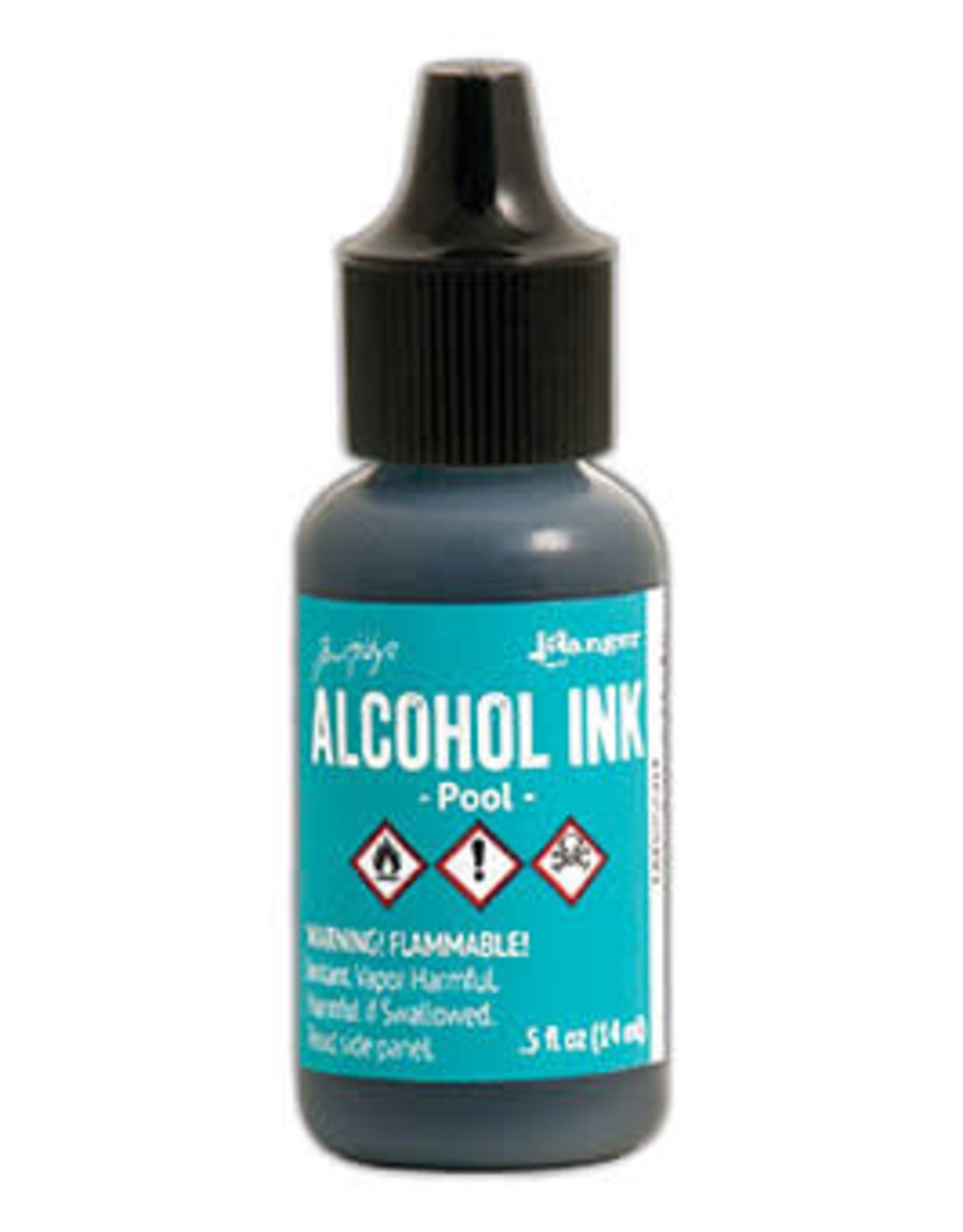 Tim Holtz Alcohol Ink 1/2 oz Pool