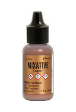 Tim Holtz Alcohol Ink Metal Mixative Copper