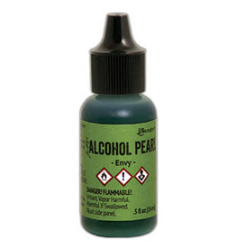 Tim Holtz Alcohol Pearl Ink 1/2 oz Envy