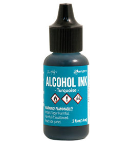 Tim Holtz Alcohol Ink 1/2 oz Turquoise