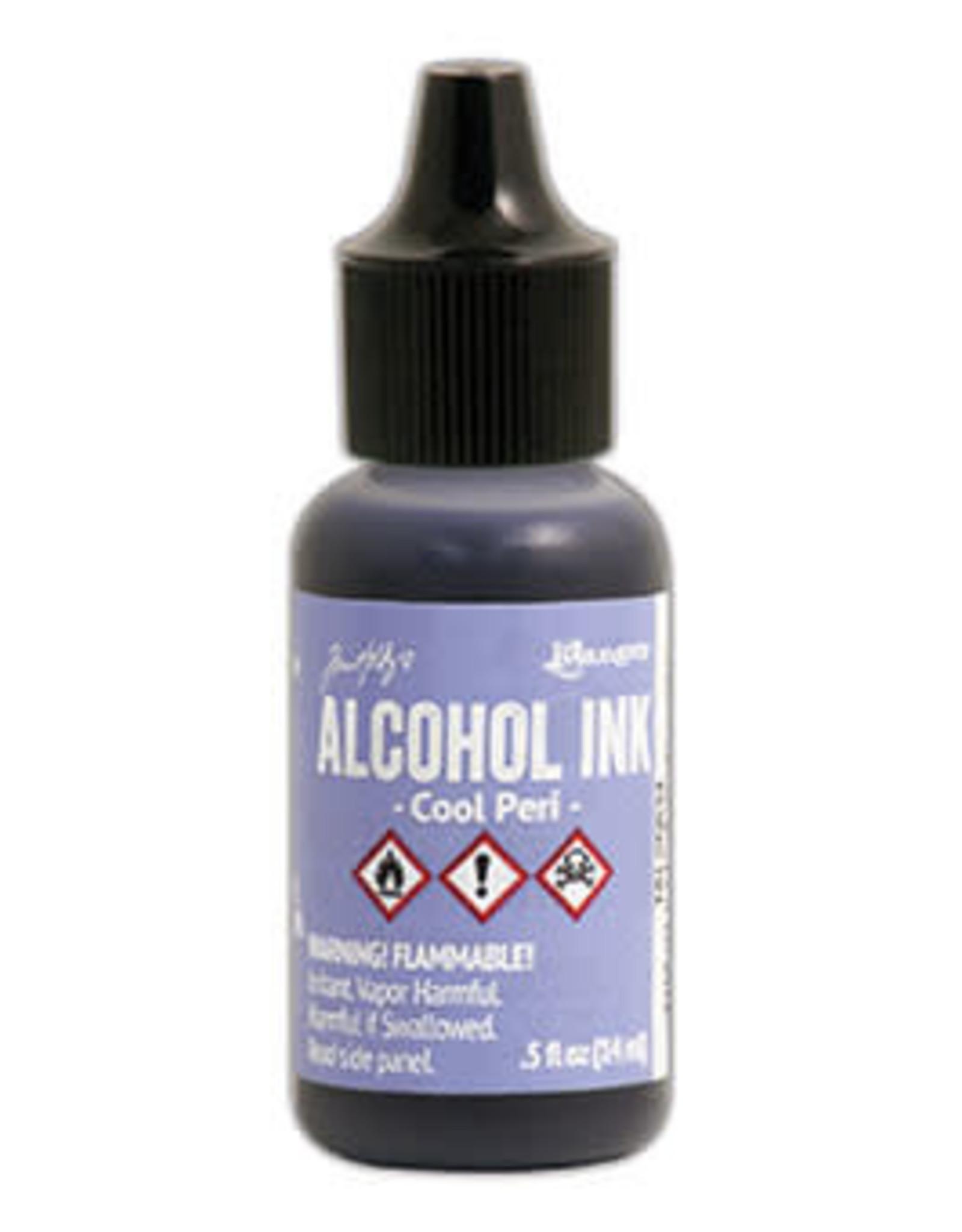 Tim Holtz Alcohol Ink 1/2 oz Cool Peri