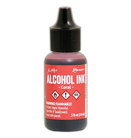 Tim Holtz Alcohol Ink 1/2 oz Coral