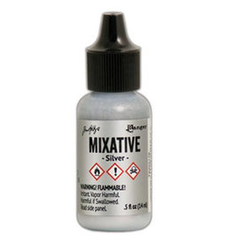 Tim Holtz Alcohol Ink Metal Mixative 1/2 oz Silver