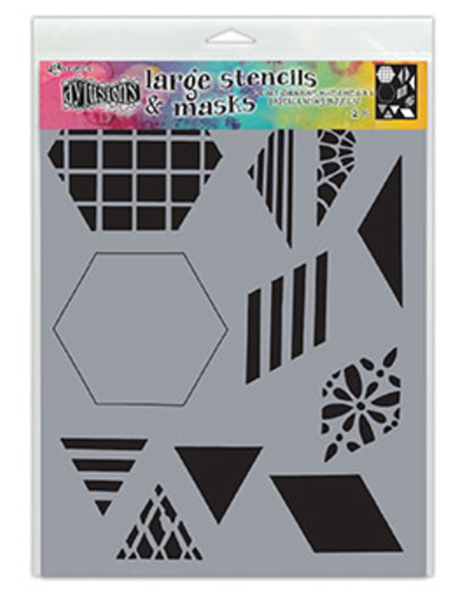 """Dylusions 2"""" QUILT  -STENCILS DYLUSIONS"""