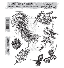 Stampers Anonymous Forest Floor - Cling Set