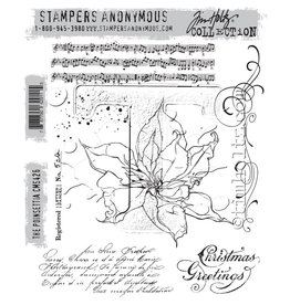 Stampers Anonymous The Poinsettia - Cling Set