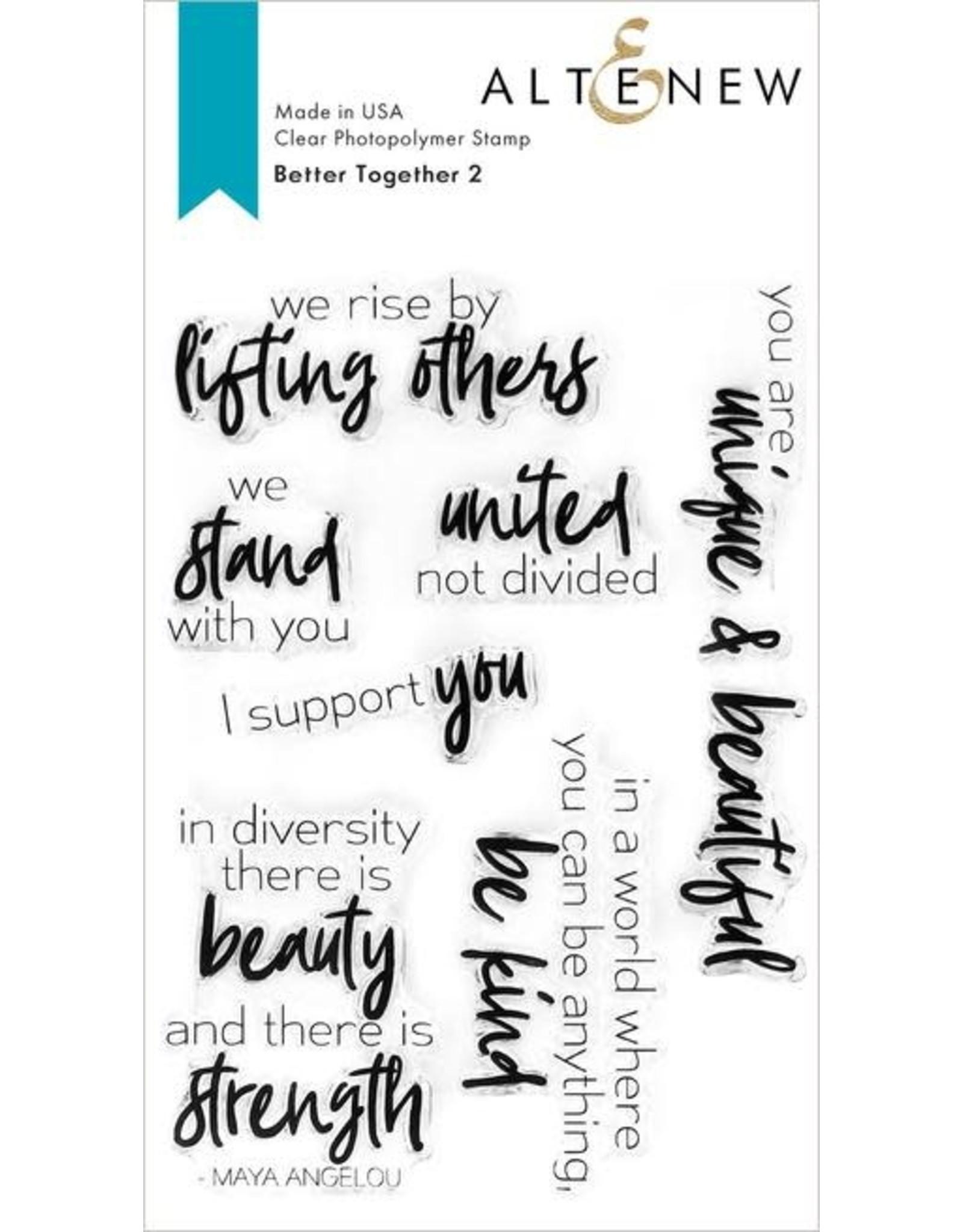 ALTENEW Better Together 2 Stamp Set