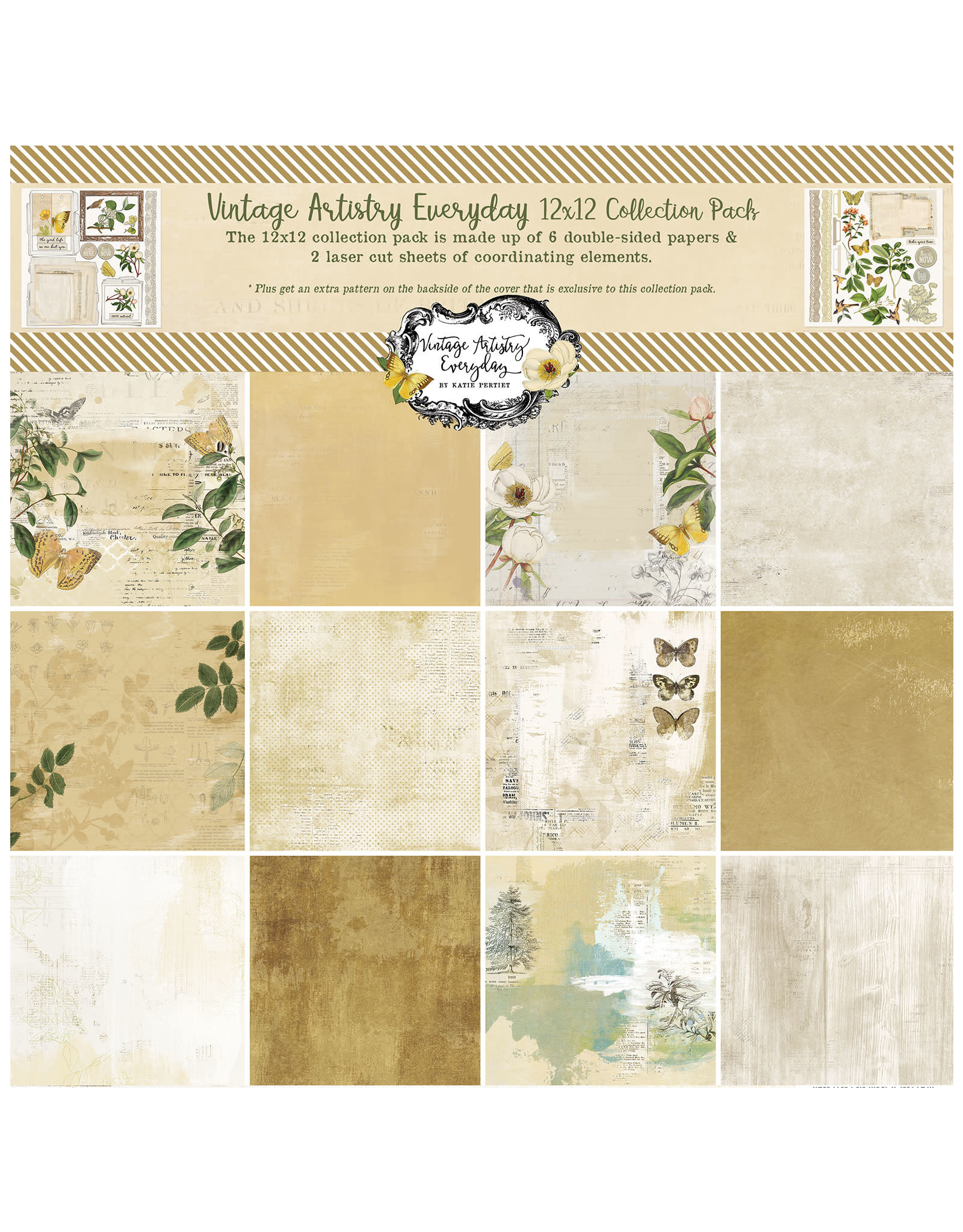 49 AND MARKET 12X12 Collection Pack, Vintage Artistry Everyday