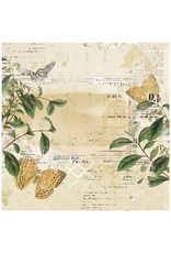 49 AND MARKET 12X12 Patterned Paper, Vintage Artistry Everyday - Convivial