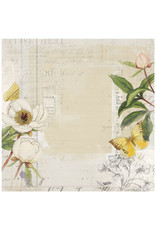 49 AND MARKET 12X12 Patterned Paper, Vintage Artistry Everyday - Garden Vty