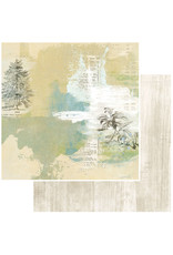49 AND MARKET 12X12 Patterned Paper, Vintage Artistry Everyday - Solitude