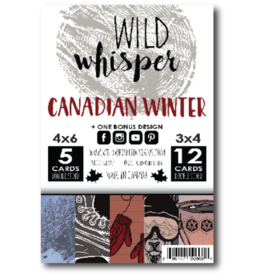 Wild Whisper Designs Canadian Winter - Card Pack
