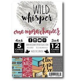 Wild Whisper Designs One More Chapter - Card Pack