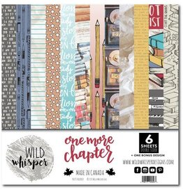 Wild Whisper Designs One More Chapter - 12x12 Paper Pack