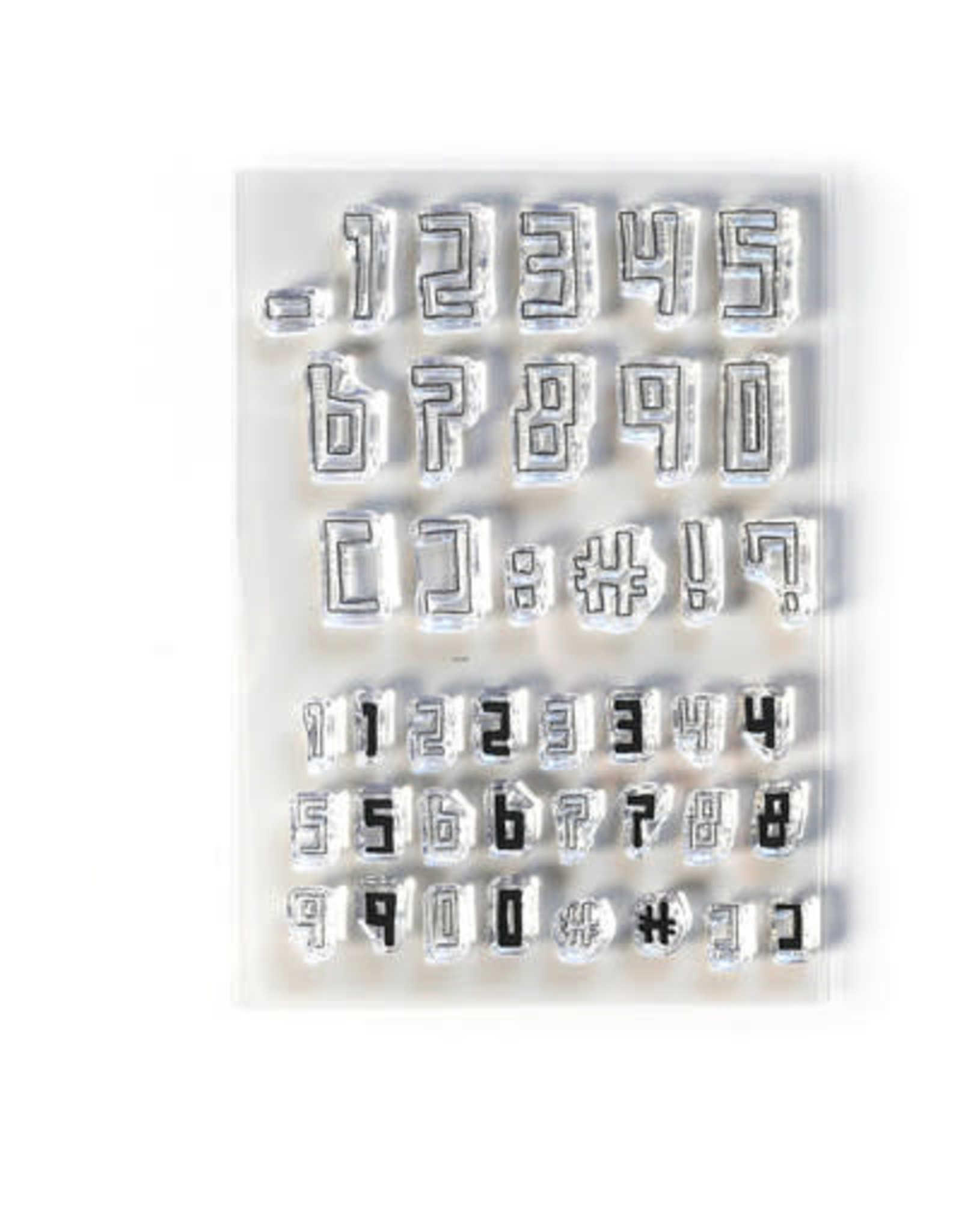Elizabeth Craft Designs Boxy Numbers