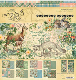 Graphic 45 12X12 Collection Pack, Woodland Friends