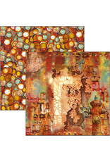 CIAO BELLA 12X12 Paper Pad, Collateral Rust *Limited Edition*