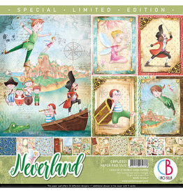 CIAO BELLA 12X12 Paper Pad, Neverland *Limited Edition*