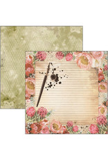 CIAO BELLA 12X12 Paper Pad, The Muse *Limited Edition*