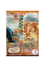 CIAO BELLA A4 Creative Pad, Collateral Rust *Limited Edition*