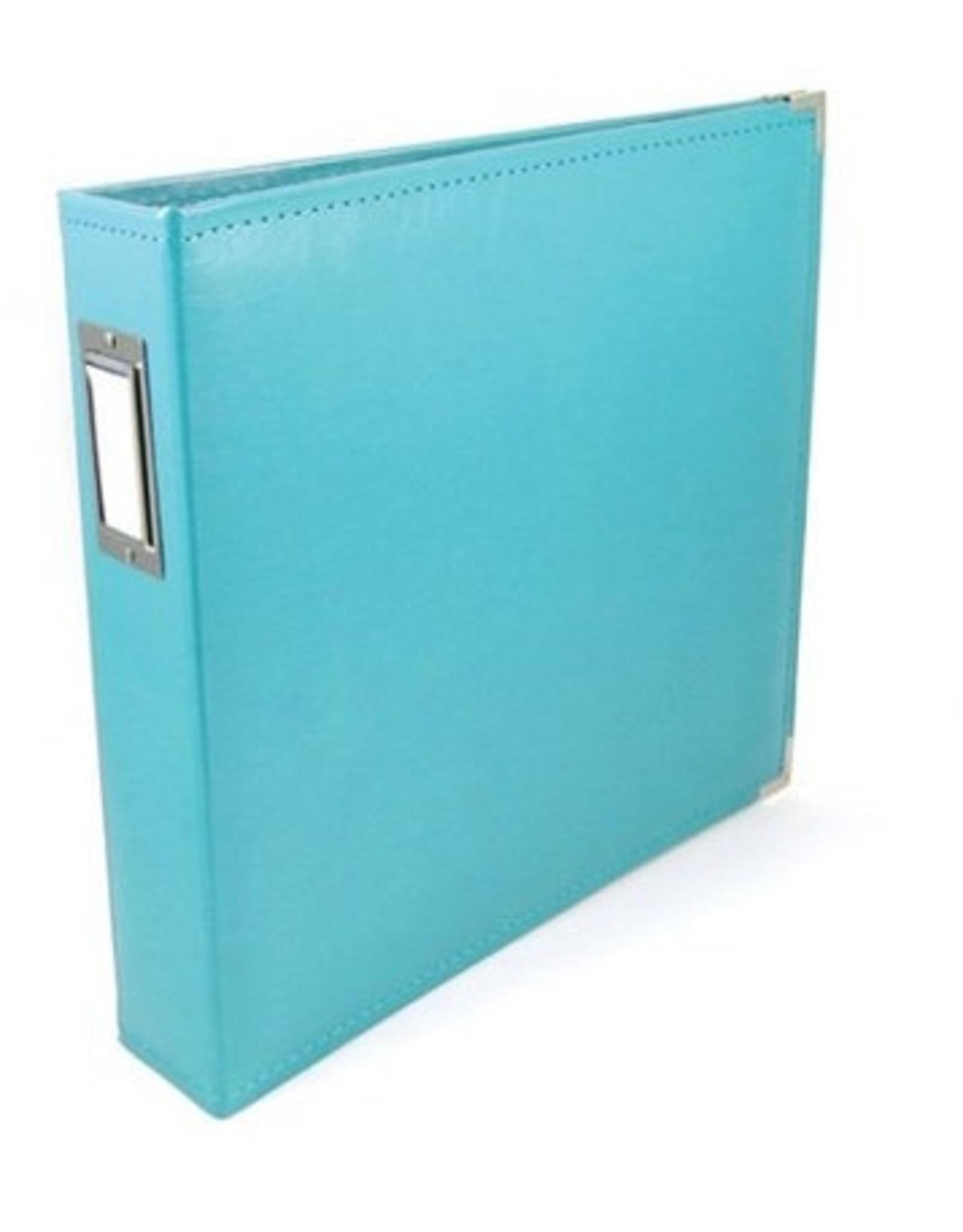 WE R MEMORY KEEPERS 12X12 Classic Album, Ring - Aqua