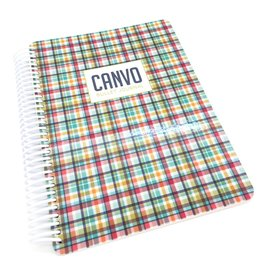 Catherine Pooler Designs Club Canvo Hip Plaid Canvo