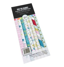 Catherine Pooler Designs New Year Bundle Pop the Bubbly Slimline Patterned Paper