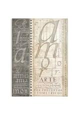 Stamperia A Rice Paper - Alphabet