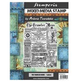 Stamperia Stamp - Sir Vagabond - The Traveler News