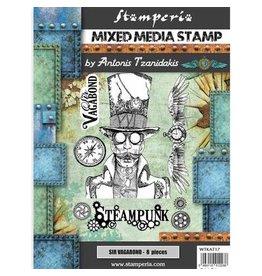 Stamperia Stamp - Sir Vagabond Steampunk