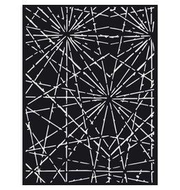 Stamperia Thick Stencil - Sir Vagabond Cracks