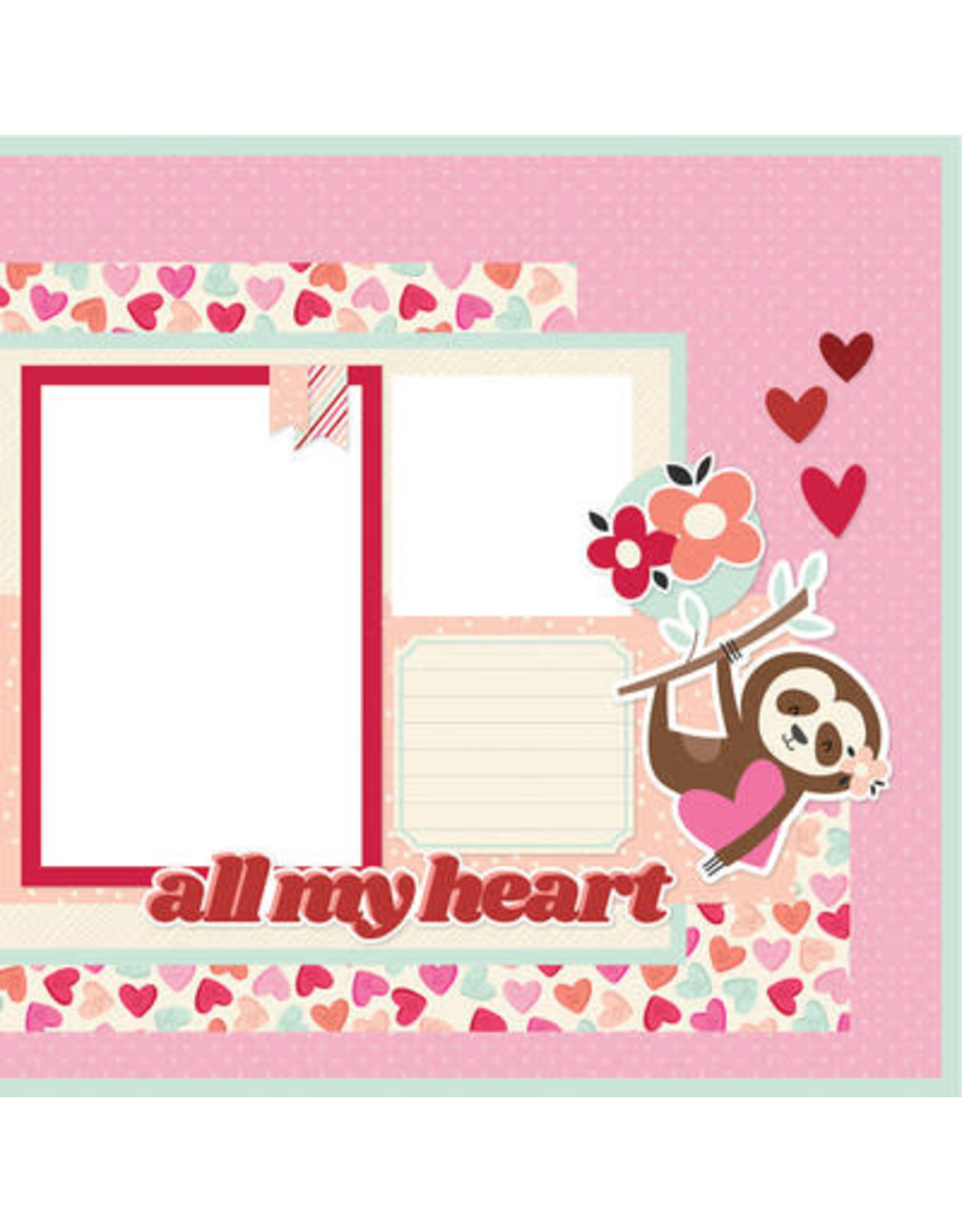 Simple Stories Simple Stories - All My Love Page Kit