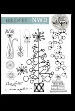 Wild Whisper Designs Baubles n' Bits - 6x6 Stamp Set