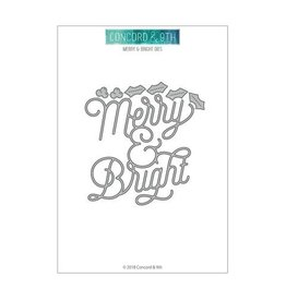 Concord & 9TH Die, Merry & Bright - *DISC*