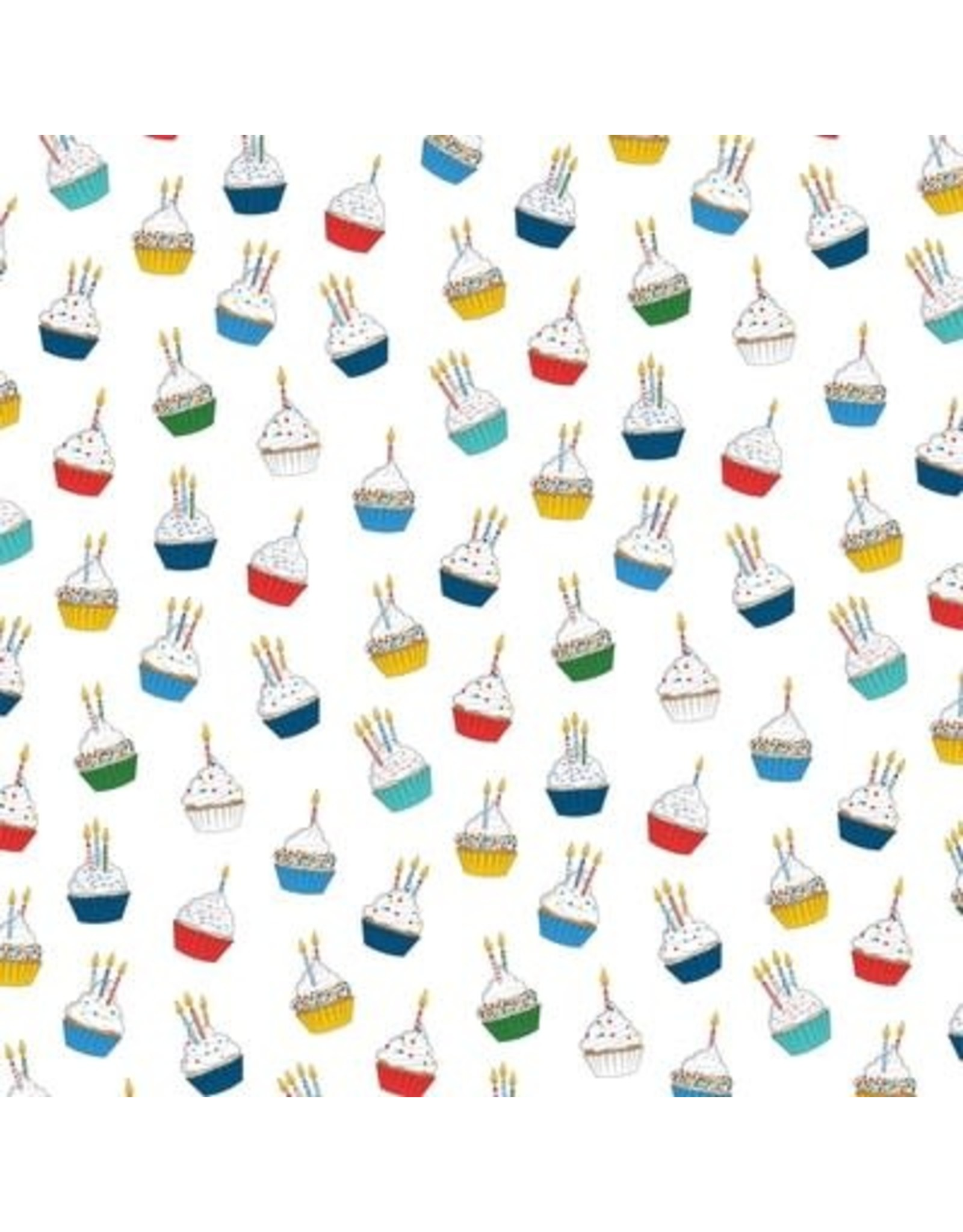 Echo Park 12X12 Patterned Paper, Let's Celebrate - Cupcake Daydream