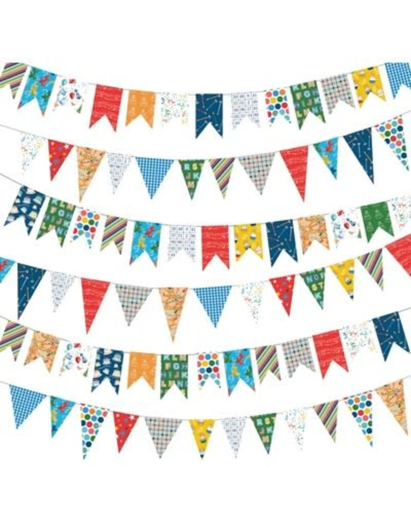 Echo Park 12X12 Patterned Paper, Let's Celebrate - Birthday Banners