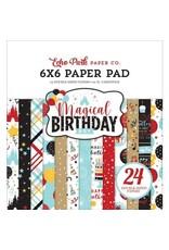 Echo Park 6X6 Paper Pad, Magical Birthday Boy