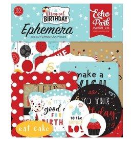 Echo Park Ephemera, Magical Birthday Boy