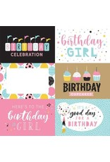 Echo Park 12X12 Patterned Paper, Magical Birthday Girl - 6X4 Journal Card