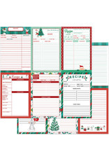 PHOTOPLAY 12X12 Recipe Card Paper, Not A Creature was Stirring - Vertical